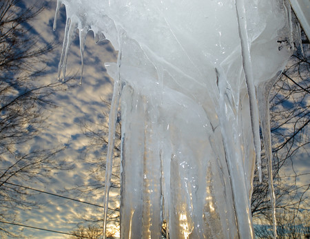 Ice Flowing Roof